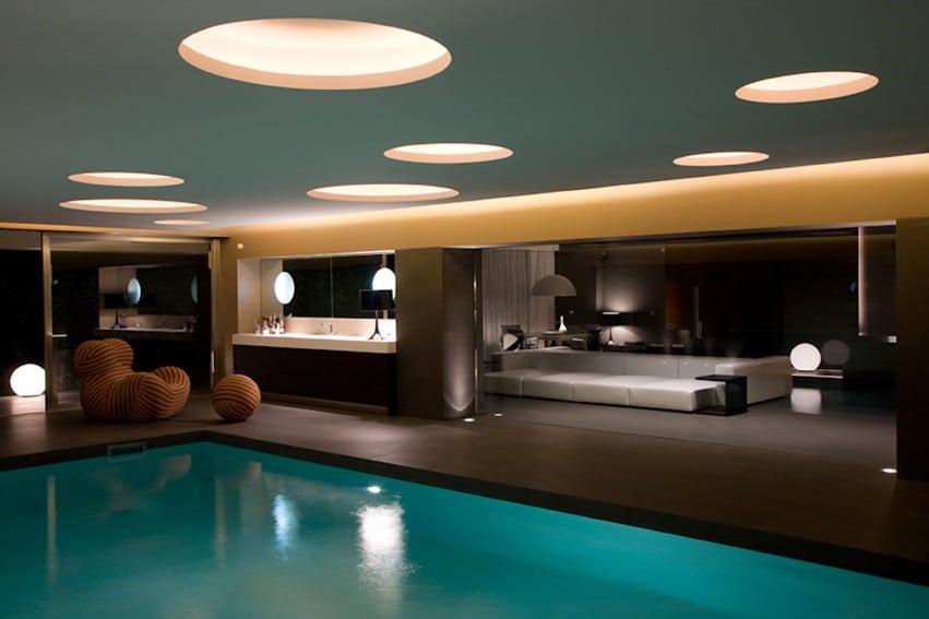 Illuminare Villa NeroMediterraneo. La luce crea atmosfere emozionanti anche grazie a Luce Latina