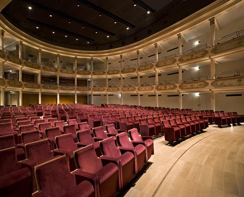 La luce per il Teatro Ristori a Verona