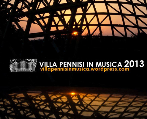 Design Workshop villa Pennisi in Musica 2013