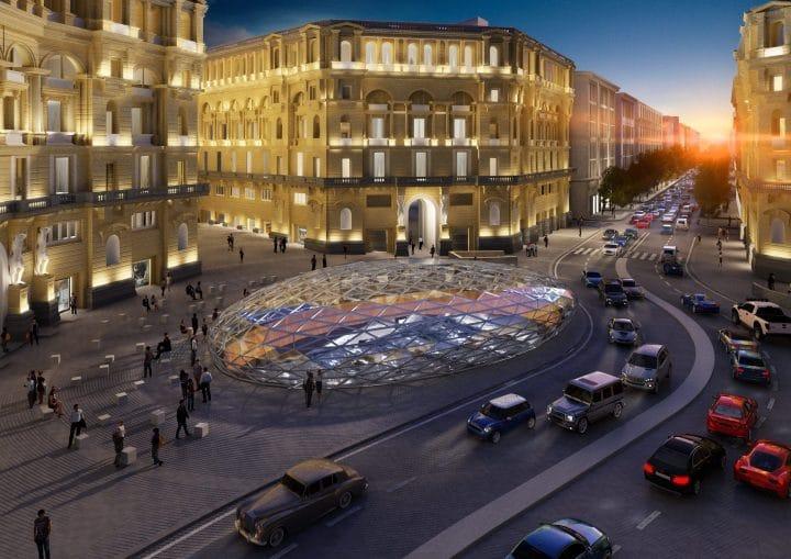 Metropolitana di Napoli_Stazione Duomo_02_Filippo_Cannata_Massimiliano Fuksas