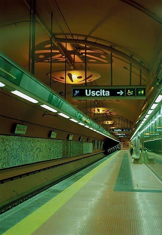 Stazione MEtro Napoli Salvator ROsa FIlippo cannata