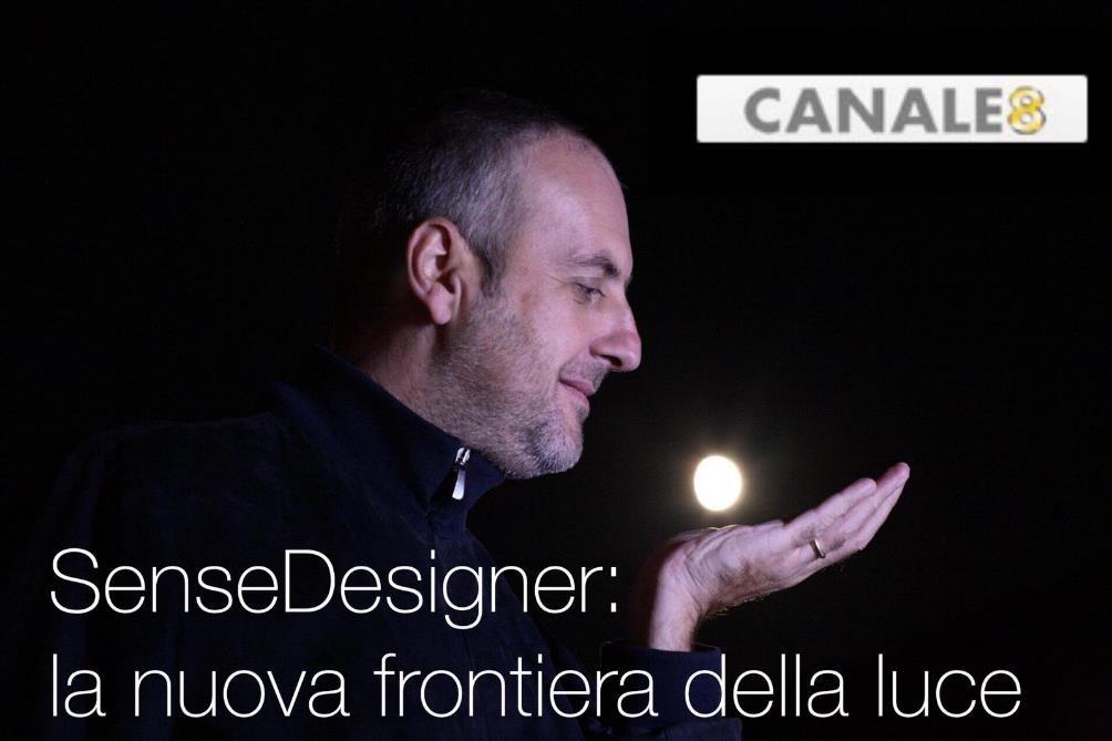 SenseDesigner a canale 8 Filippo Cannata